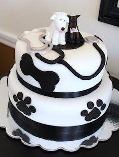 Creative Cakes by Lynn: Vet's Bridal Shower Cake