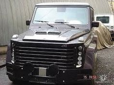Тюнинг Mercedes Benz Gelandewagen