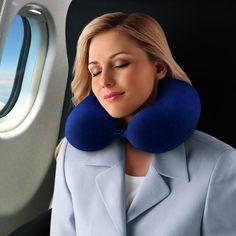 The Best Travel Pillow Ever. So Comfortable! And now on sale!