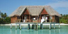 tropical honeymoon hut