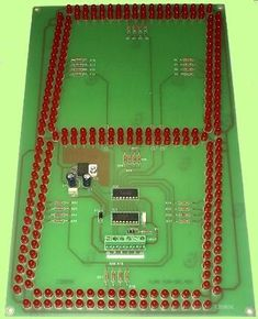 Led, Diy Clock, Circuit Diagram, Circuits, Gate, Audio, Display, Technology, Design