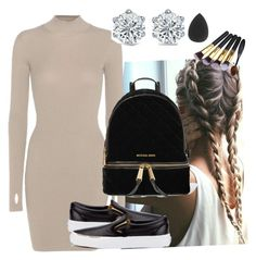 """Untitled #167"" by perlahak on Polyvore featuring adidas Originals, Vans and MICHAEL Michael Kors"