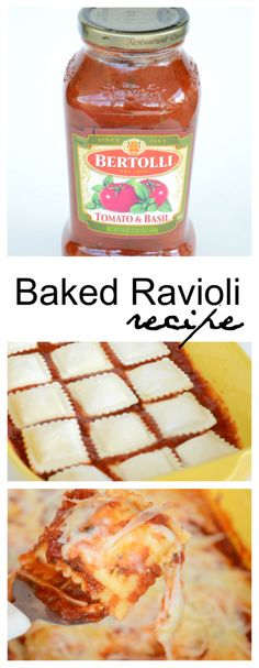 Baked Ravioli Recipe - The Idea Room