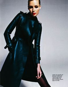 Tiiu Kuik by Frédéric Pinet for Marie Claire UK