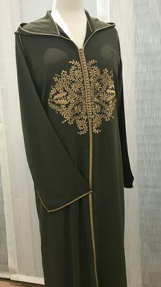 Hijab Fashion 2016, Fashion Outfits, Womens Fashion, Moroccan Caftan, Anarkali Dress, Mode Hijab, African Fashion Dresses, Hijab Outfit, Embroidery Dress