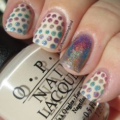 .@brummingbird | Holo dots and a holo fishtail! I heard you liked holo!!! So heres some holo ... | Webstagram - the best Instagram viewer