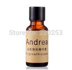 Óleo de crescimento do cabelo Andrea a essência 20 ml líquido perda de cabelo denso rápido crescimento do cabelo tratamento para homens mulheres UNISEX alishoppbrasil