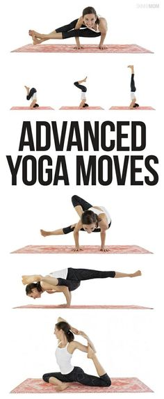 Yoga poses offer numerous benefits to anyone who performs them. There are basic yoga poses and more advanced yoga poses. Here are four advanced yoga poses to get you moving. Ashtanga Yoga, Vinyasa Yoga, Yin Yoga, Namaste Yoga, Yoga Inspiration, Intermediate Yoga Poses, Advanced Yoga Poses, Hata Yoga, Cool Yoga Poses