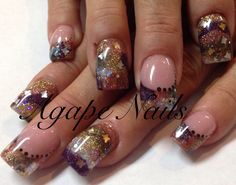 Encapsulation nail art