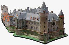 Zleby castle paper model
