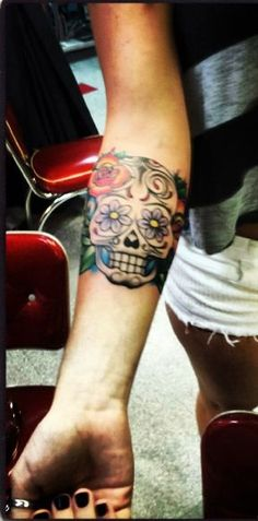 Sugar skull tattoo cute | tattoos picture sugar skull tattoos