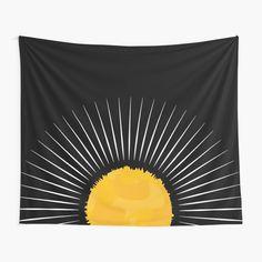 #sun #largeststar #sunrays #hot #weather #earth #thesolarsystem #ozonelayer #yellowandgold #geometric #minimalist #aesthetic #simplistic #pattern #naturelovers #theenvironment #tiktok #visco #giftsandholidays #boho #retro #chic Ozone Layer, Retro Chic, Vignettes, Minimalist, Tapestry, Weather, Earth, Artists, Sun