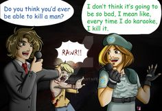 Game Grumps Let's play: Resident Evil Remastered by iBunniee on DeviantArt