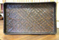 Antique Japanese Kimono Trays