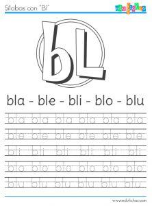 sílabas con bl