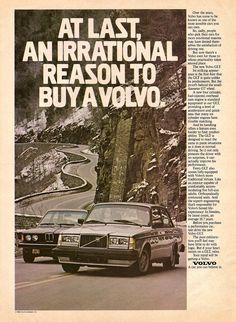 Classic Volvo Ads