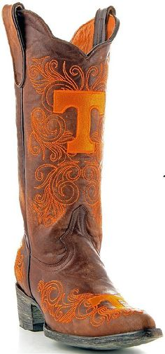 Tennessee Women's Gameday Boots!  I don't wear cowboy/cowgirl boots often but I'd sure wear these!!!
