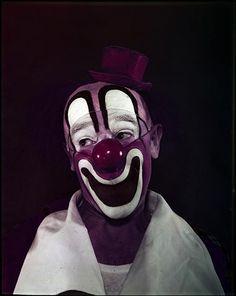 """mpdrolet: """" Clown, 1948 Stanley Kubrick """""""