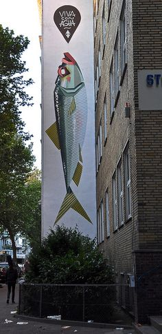 graffiti fish
