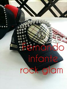 Rock glam style