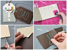 Shirt And Tie Holder | 24 Cute And Clever Ways To Give A Gift Card