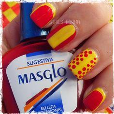MASGLO KIT SELECCIÓN http://nailenkha.blogspot.com.es/2016/06/masglo-kit-seleccion.html #masglo #masgloeu #spain #laroja #football #eurocopa #nails #notd #manicure #nailart #polish #nailspolish #nailartadict #cutepolish #cool #fashion #nailideas #manicura #esmalte #uñas #unhas #blog #blogguer #blogasturias #bloggerasturias #beauty #beautyblog