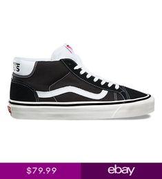 1a33bc5c4862 SALE Mens Vans Mid Skool 37 DX Anaheim Factory Black White SZ 5-13 NEW