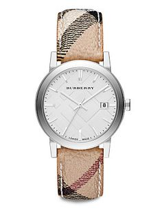 Burberry City Stainless Steel