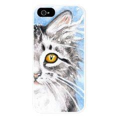 Silver Tabby Kitten Iphone 5/5s Snap Case