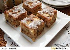 Ořechovo-jablečný koláč II. recept - TopRecepty.cz