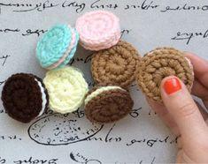 Las Varetas Crochet: Tutorial: Galletita a Crochet
