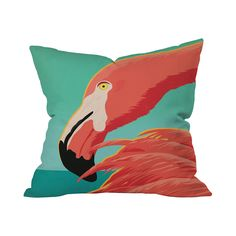 Flocked and Ready Pillow