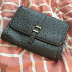 Grey clutch Grey clutch / wallet good condition use dressed up or down for a casual look and lighter purse Forever 21 Bags Clutches & Wristlets