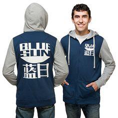 Blue Sun Zip-Up Hoodie | ThinkGeek