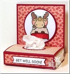 tissue card