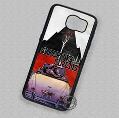 Mix Image Band Cover Album Sleeping with Sirens - Samsung Galaxy S7 S6 S5 Note 7 Cases & Covers