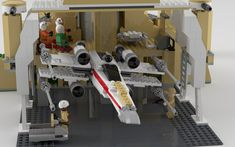 https://flic.kr/p/KCDxP7   Yavin IV Rebel Base Up Close   This is an unreleased Star Wars model first as seen in the LEGO Visual Dictionary. A decent set and thought it'd make a good render. Here is a link to MightySlickPancake's reversed engineered MOC with LDD file. After importing the LDD, I substituted or built new where pieces were missing. www.eurobricks.com/forum/index.php?showtopic=48955&st=0