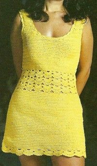 free crochet dress graph patterns