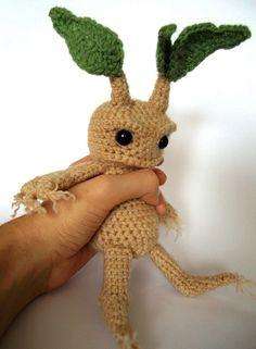 Mandrake - Amigurumi Häkeln Muster