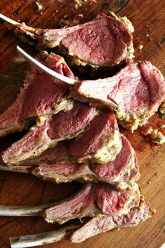 Rack of Lamb Easiest Rack of Lamb // The best and easiest recipe for rack of lamb. // Rack of Lamb // The best and easiest recipe for rack of lamb. Lamb Recipes, Meat Recipes, Vegetarian Recipes, Cooking Recipes, Recipies, Rack Of Lamb Recipe Easy, Lamb Dishes, Lamb Chops, Roast Lamb