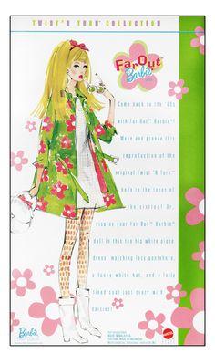 Far Out Barbie: Repro TNT Packaging Illustration Barbie Go, Vintage Barbie Dolls, Barbie World, Barbie And Ken, Retro Illustration, Vintage Illustrations, Fashion Illustrations, Barbie Fashion Sketches, Barbie Drawing