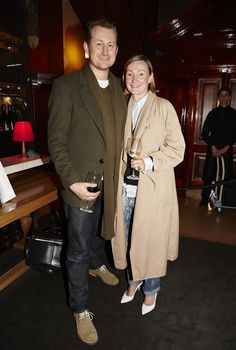 Christian Kidel and Jacqueline Hunt at Evening With Our Designers 2013 at Strand Arcade, featuring the launch of the 1891 publication, the We Are The Makers series, and our SS13 campaign. #fashion #event #EWOD #strandarcade