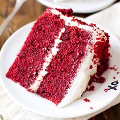 I tested several recipes and this classic red velvet layer cake wins by a landslide!