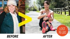 """Weight Loss Success Story: """"I Lost 76 Pounds"""" - Weight Loss - Health.com"""