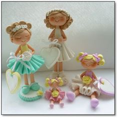 A group of little Miss Mollies'