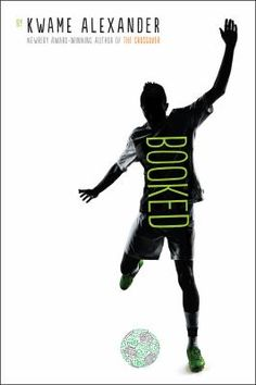 """Booked by Kwame Alexander is recommended by Brian in the Youth Services Department of the Carol Stream Public Library. """"Twelve-year-old Nick loves soccer and hates books, but soon learns the power of words as he wrestles with problems at home, stands up to a bully, and tries to impress the girl of his dreams."""""""