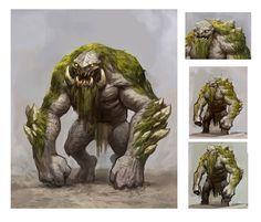 ArtStation - various monsters, Thomas Mahon