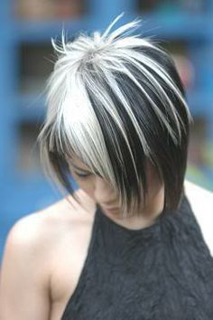 Silver Highlights On Black Hair Home Celebrity
