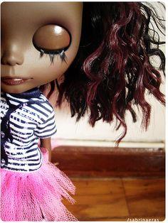 Black Blythe Doll