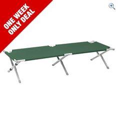 Hi Gear Aluminium Camping Bed | GO Outdoors
